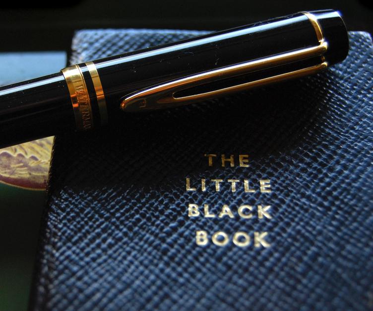 My Little Black Book App
